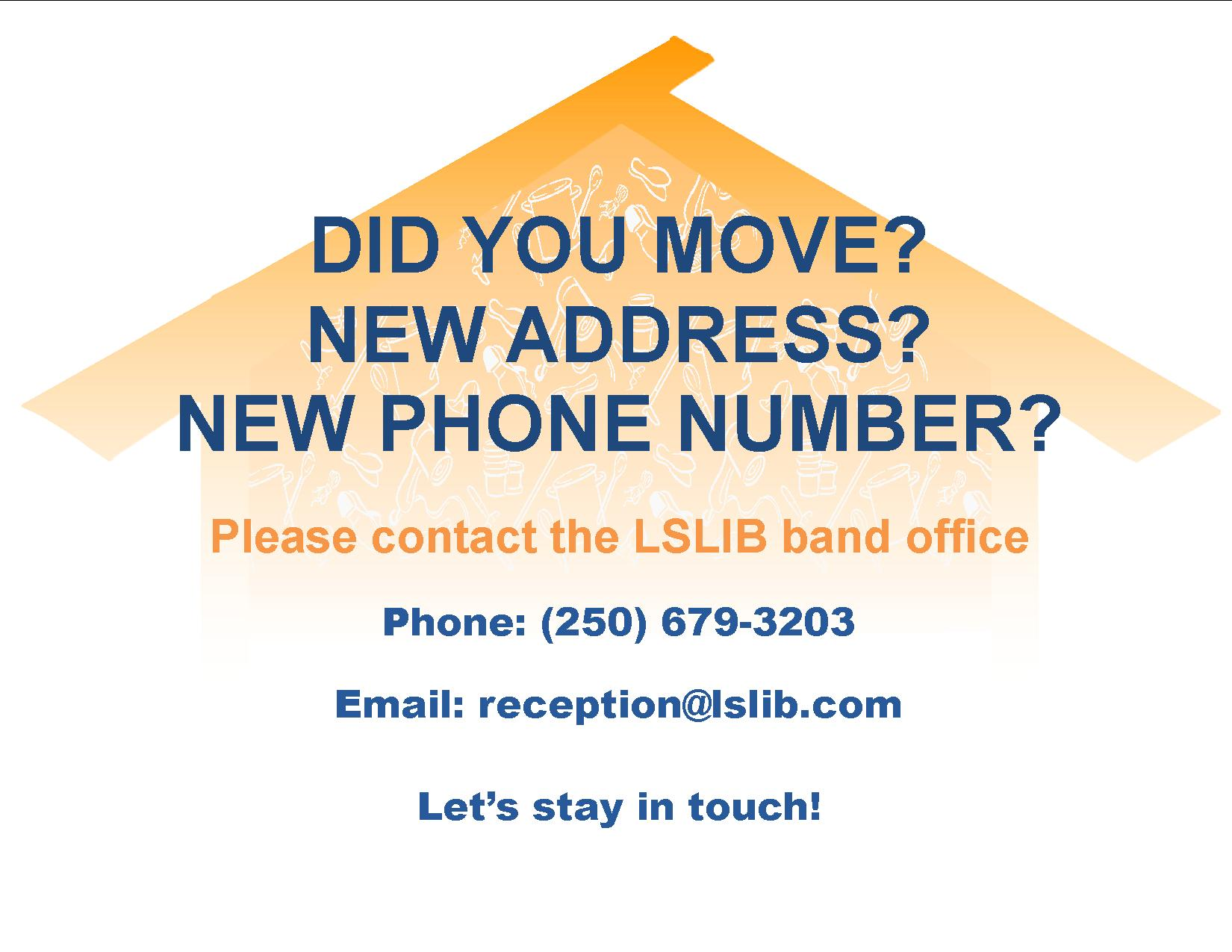 Address change form – Address Change Form